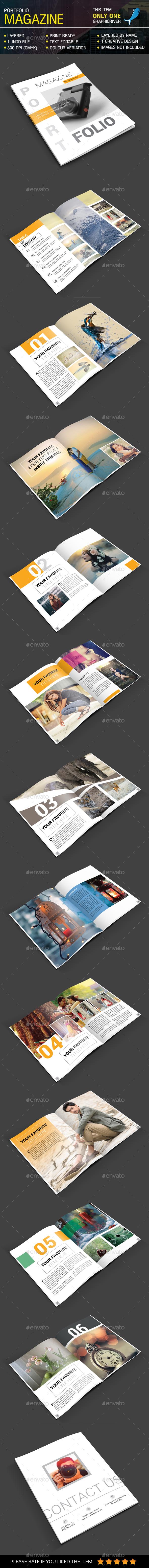 Portfolio Magazine - Magazines Print Templates