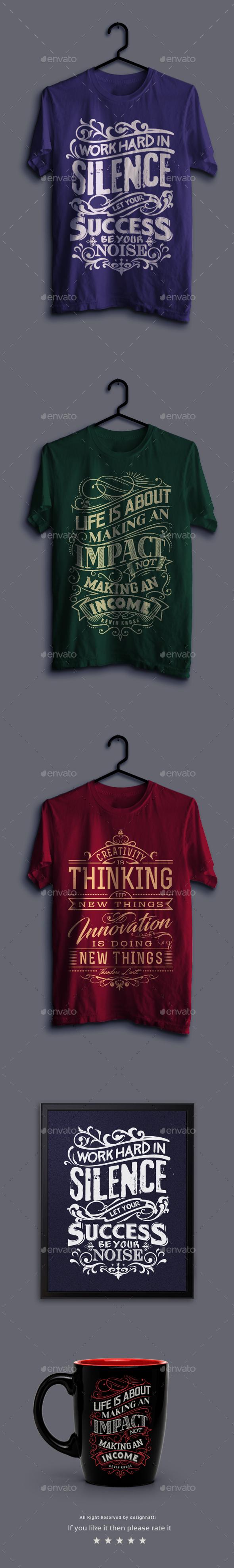 Vintage Quote T-Shirts Vol.02 - T-Shirts