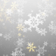 Gold and White Snowflakes - VideoHive Item for Sale