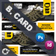 Shopping Product Business Card Templates - GraphicRiver Item for Sale
