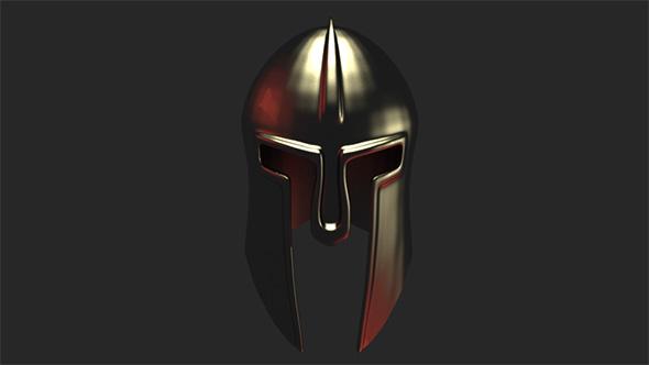 Helmet gear model - 3DOcean Item for Sale