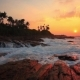 Beautiful Sunset on a Tropical Beach - VideoHive Item for Sale