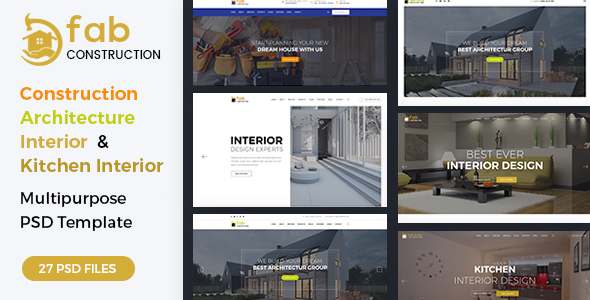 ThemeForest Fab Construction PSD Template 20719262