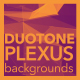Plexus Duotone Background
