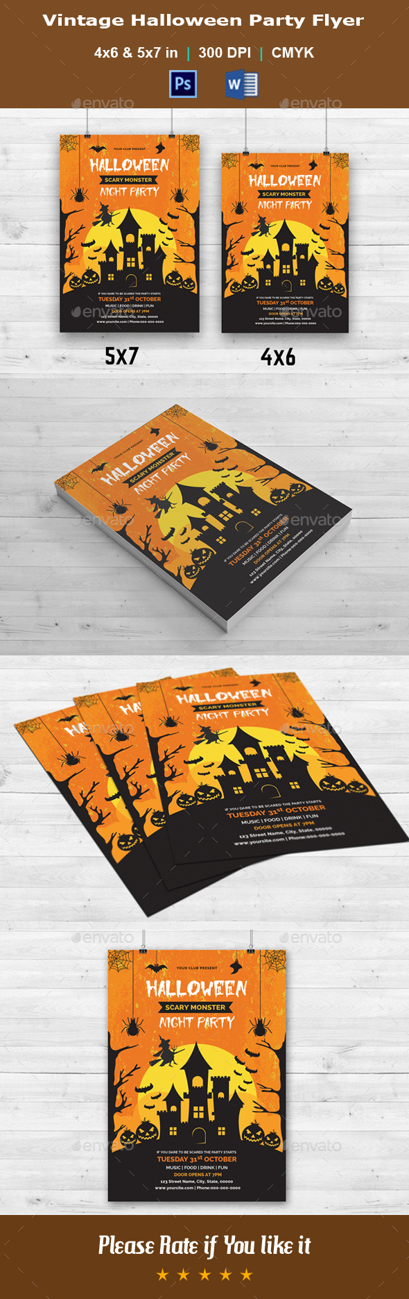 Halloween Party Flyer V13 - Events Flyers
