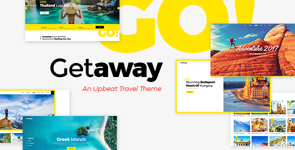 Getaway - An Upbeat Travel and Tourism Theme - Travel Retail