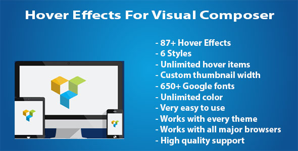 Hover Effects For Visual Composer - CodeCanyon Item for Sale