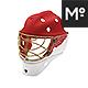 Hockey Goalie Mask Mock-up