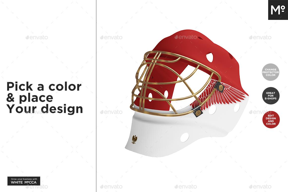 Hockey Goalie Mask Mock Up By Mocca2go Graphicriver