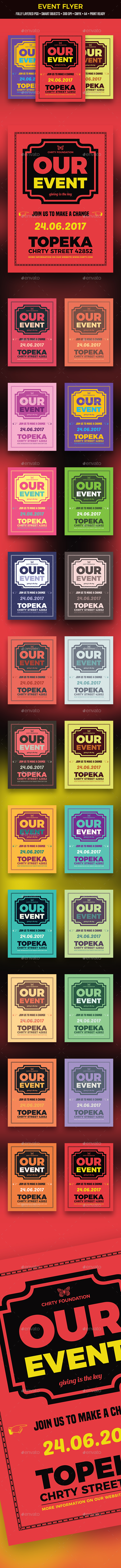 Event Flyer - Clubs & Parties Events