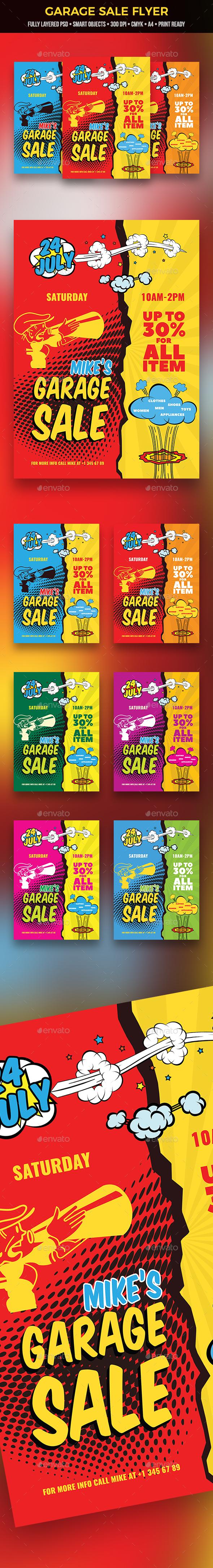 Garage Sale Flyer - Miscellaneous Events