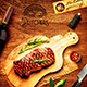 Steak House Menu Template