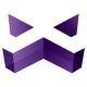 Negative X Letter Logo - GraphicRiver Item for Sale