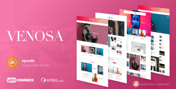 Venosa - Magazine & Blog WordPress Theme