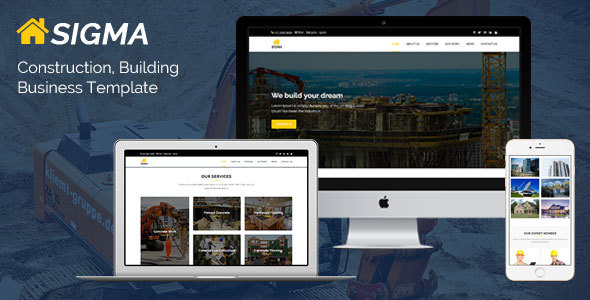 ThemeForest Sigma Construction Building Business Template 20721036