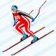 Alpine Skiing Downhill