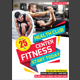 Fitness Flyer PSD - GraphicRiver Item for Sale