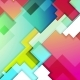 Colorful Abstract Geometry Background Motion Design
