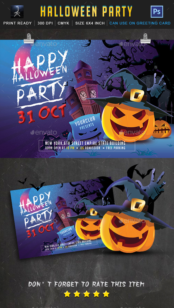 Halloween 2017 - Events Flyers