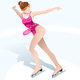 Female Figure Skating Winter Sports