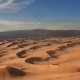 Beautiful Sunset in the Desert. Sandstorm on the Dune - VideoHive Item for Sale