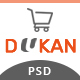 Dukan - Elegant E-Commerce PSD Template - ThemeForest Item for Sale