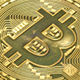 Bitcoin Coins Falling - VideoHive Item for Sale