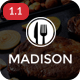 Madison | WordPress Restaurant Theme