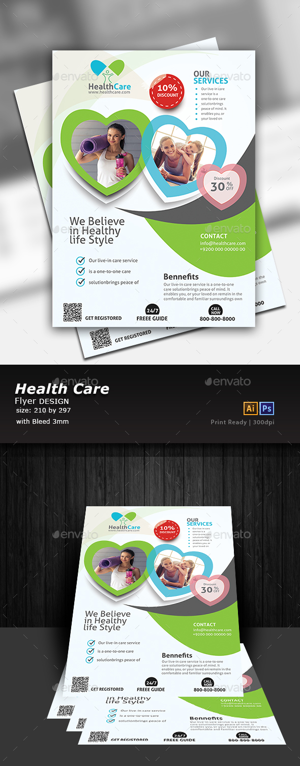 Healthy Life Flyer - Corporate Flyers