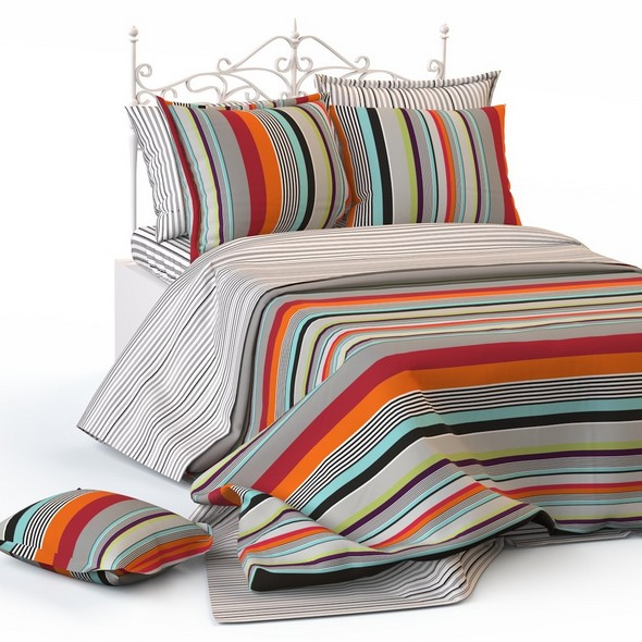 Double bed blanket pillow bedding - 3DOcean Item for Sale