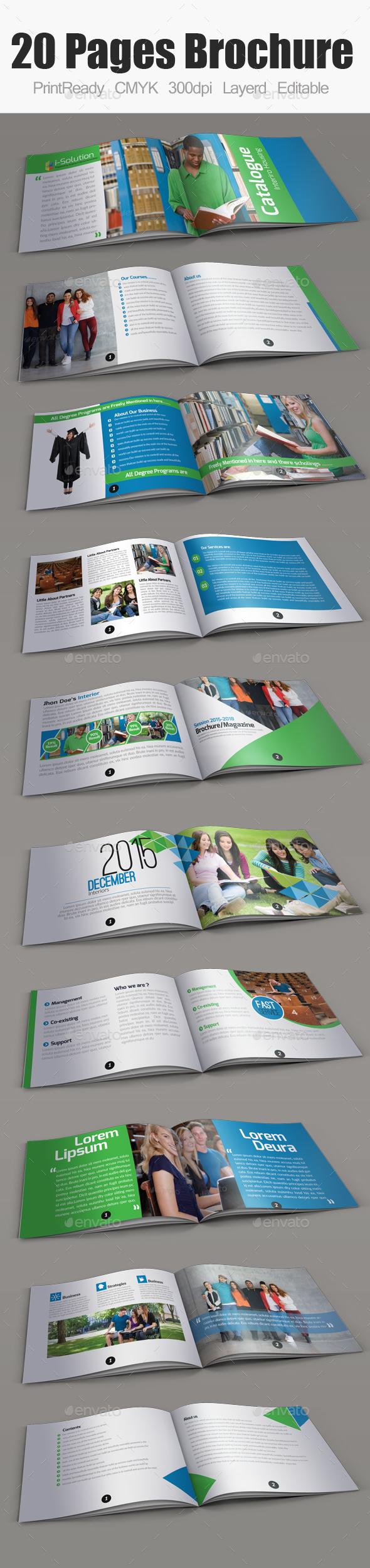 Education Bifold Brochure - Catalogs Brochures