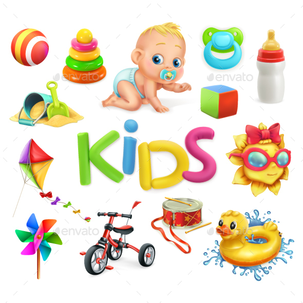 GraphicRiver Kids and Toys 20722698