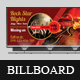 Music Concert Night Billboard Banners
