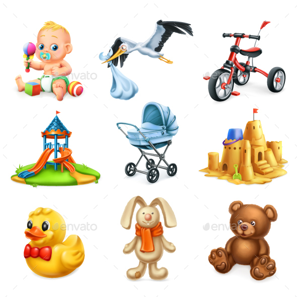 Children Playground - Miscellaneous Vectors