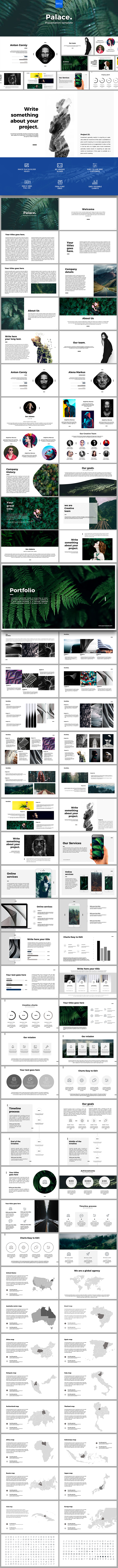Palace Powerpoint - PowerPoint Templates Presentation Templates