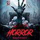 Horror Night Flyer Template - GraphicRiver Item for Sale