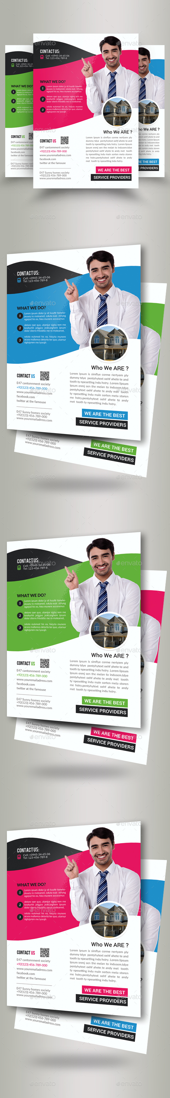 Real Estate Agent Flyers - Corporate Flyers