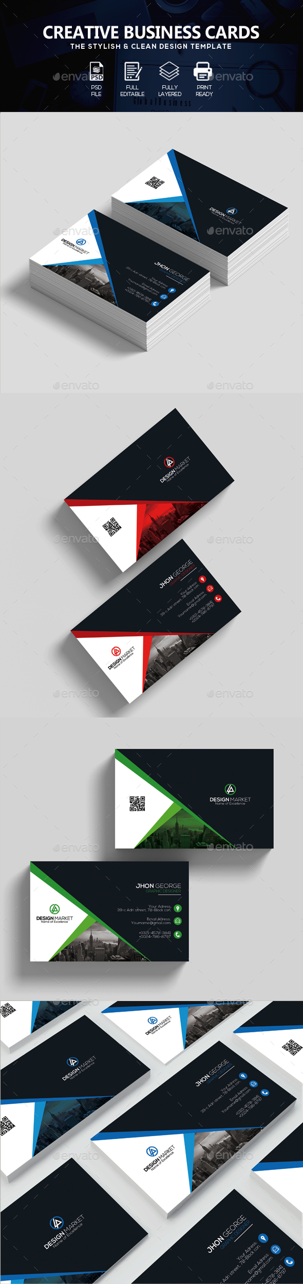 Creative Business Cards - Corporate Business Cards