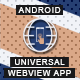 Ultimate Webview App - Android [ AdMob & Push Notifications ]