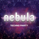 Nebula Techno Flyer A4