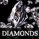 Fly-Through Diamonds - VideoHive Item for Sale