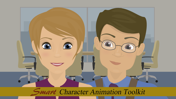 Character Design Animation Toolkit : Smart character animation toolkit commercials envato