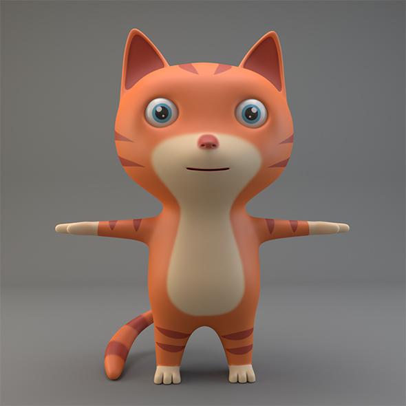 Cartoon Cat - 3DOcean Item for Sale