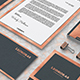 Rose Gold Corporate Identity Template - GraphicRiver Item for Sale
