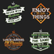 Typography Badges And Labels Vol.7