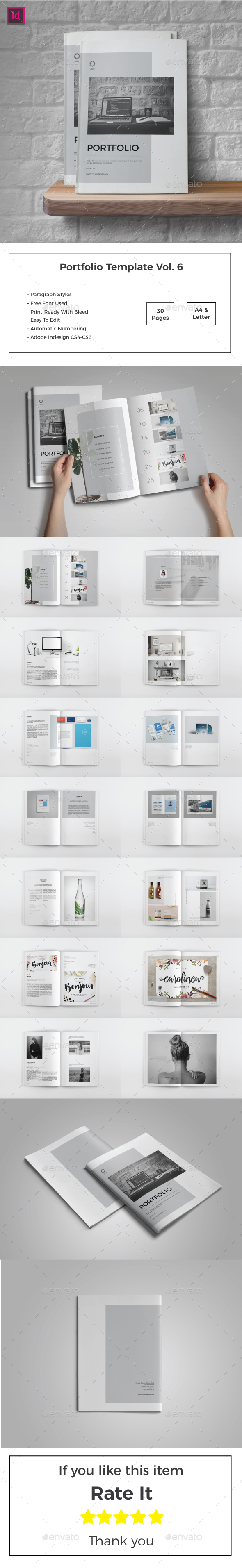 Multipurpose Portfolio Template Vol.6 - Portfolio Brochures