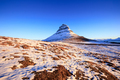 Kirkjufellsfoss Waterfall with Kirkjufell mountain at sunrise, Iceland - PhotoDune Item for Sale