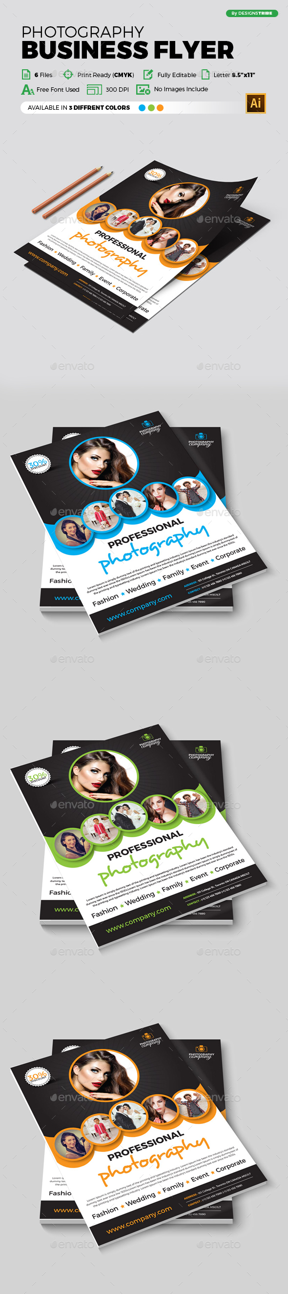 Flyer – Multipurpose 346 - Flyers Print Templates