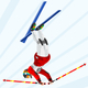 Freestyle Skiing Winter Sports Vector