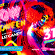 Glow Halloween Party Flyer - GraphicRiver Item for Sale